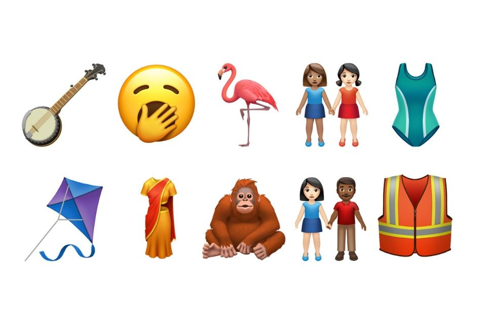 Apple previews some of 59 new emoji launching later this