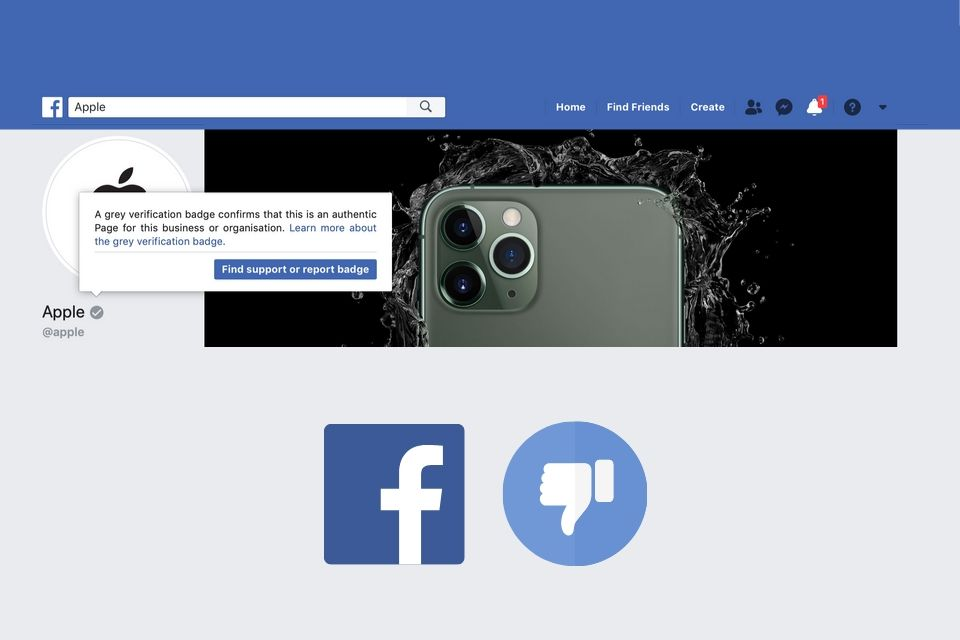 Facebook to remove gray verification badges from Pages | The