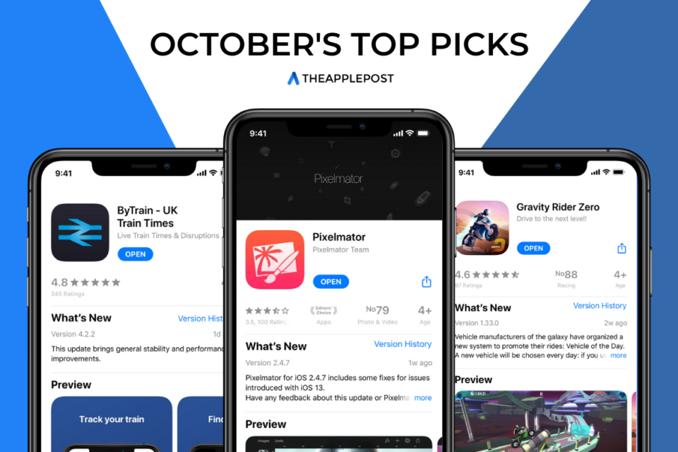 October'sTopPicks: Our top three favorite apps
