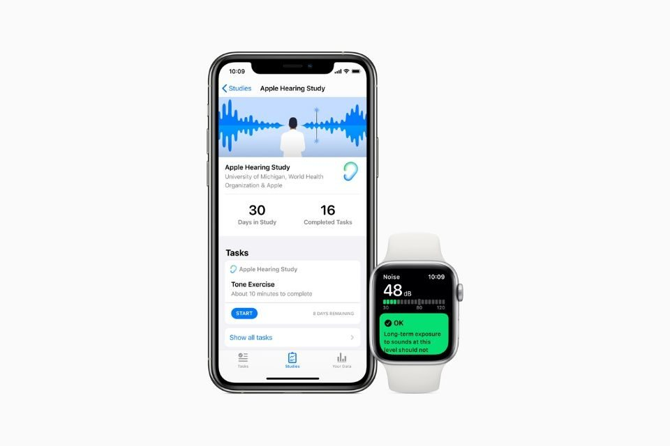 Apple launches new Research app with heart, women's health and hearing studies