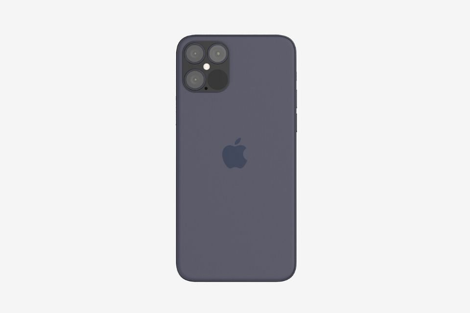 An iPhone 12 Pro concept designed by The Apple Post (www.theapplepost.com). Attribution Required.