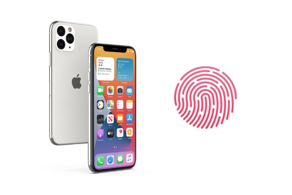Công nghệ Touch ID ẩn thân dưới màn hình liệu có xuất hiện không?