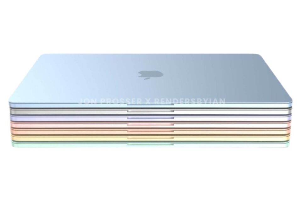 This is what Apple's new colorful MacBook Air could look like