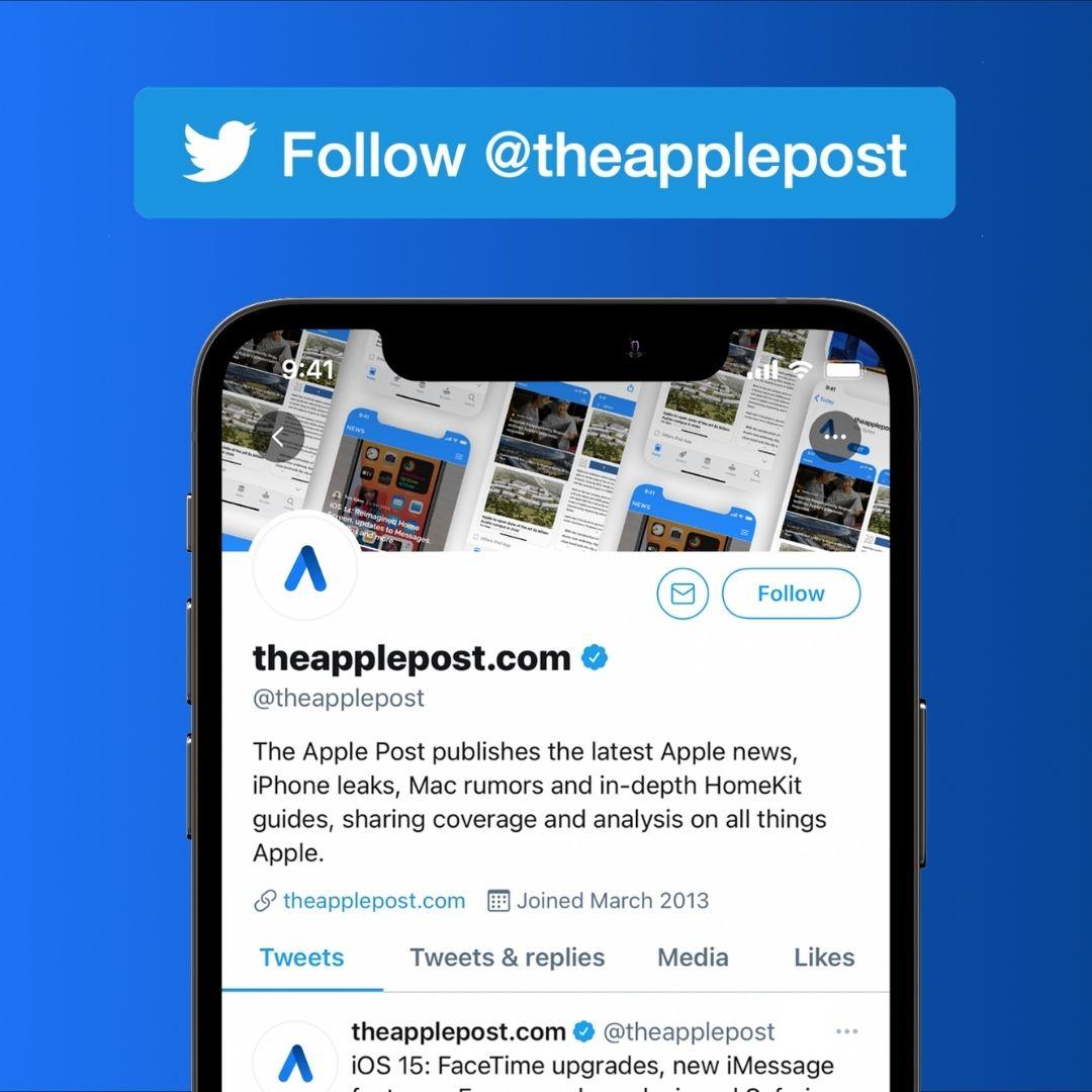 Follow @theapplepost on Twitter
